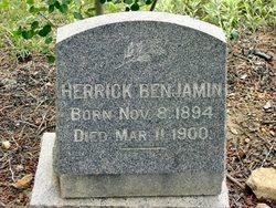 Herrick Benjamin