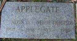 Nellie Alameda <i>Tillotson</i> Applegate