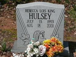 Rebecca Lois <i>King</i> Hulsey