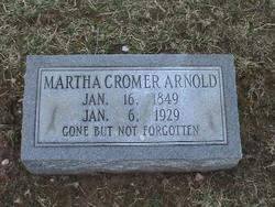 Martha Ann <i>Cromer</i> Arnold