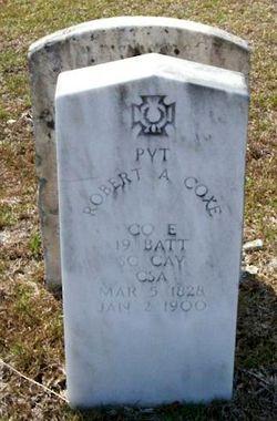 Pvt Robert A. Coxe