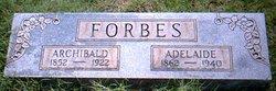 Adelaide Eliza <i>Beal</i> Forbes