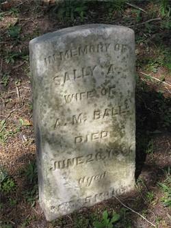 Sarah (Sally) Ann <i>Smith</i> Ball