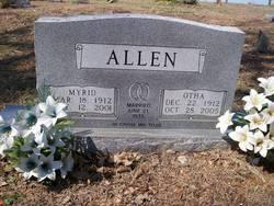 Otha <i>Hyslip</i> Allen