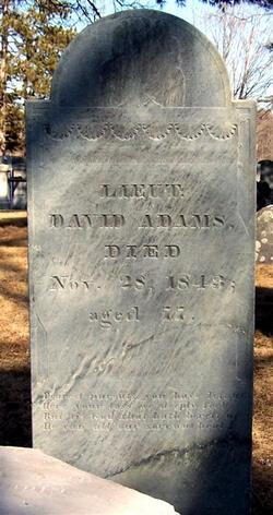 Lieut David Adams