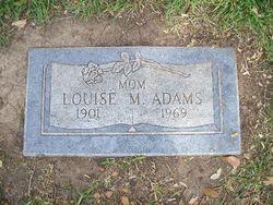 Louise <i>Malone</i> Adams