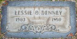 Lessie O. <i>Steele</i> Denney