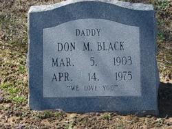 Don M Black