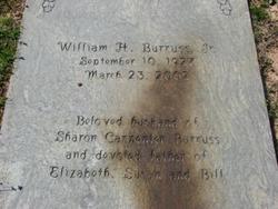 William H Burruss, Jr