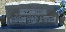 Gerald Leroy Nations