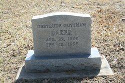 Gertrude <i>Guttman</i> Baker