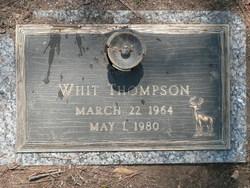 Whit Thompson