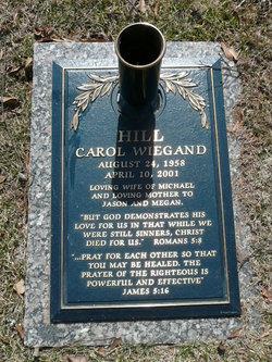 Carol <i>Wiegand</i> Hill
