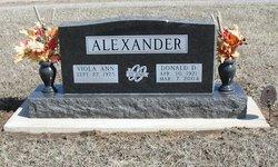 Donald D. Alexander