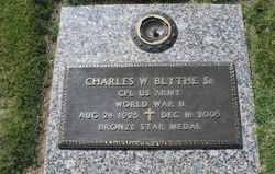 Charles W Blythe, Sr
