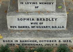 Sophia Royce <i>Bradley</i> McGilvary