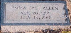 Emma Florence <i>East</i> Allen
