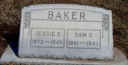 Jessie Elizabeth <i>Brake</i> Baker