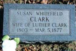 Susan <i>Whitefield</i> Clark