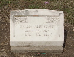 Selma <i>Splittgerber</i> Albrecht