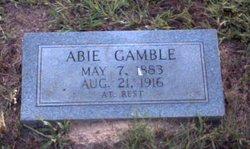Abigail Mae <i>Weeks</i> Gamble