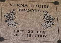 Verna Louise Brooks