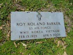 Roy Roland Barker