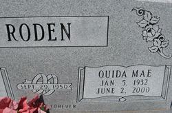 Ouida Mae <i>Looney</i> Roden