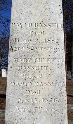 Mary <i>Cheever</i> Bassett