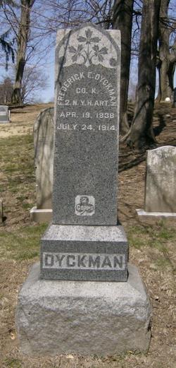 Frederick E Dyckman