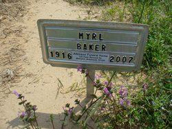 Myrl <i>Naylor</i> Baker