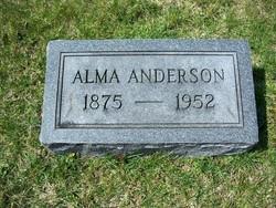 Alma <i>Patton</i> Anderson