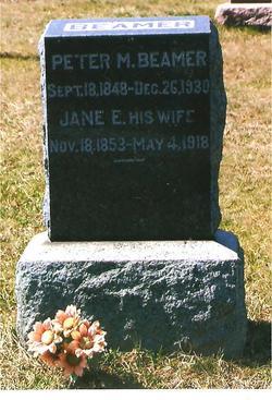Jane Ellen <i>Warren</i> Beamer