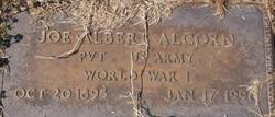 Joe Albert Alcorn