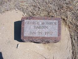 George Monroe Hardin