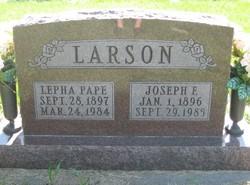 Lepha <i>Pape</i> Larson