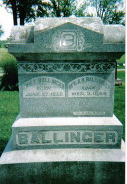 Rev Alonzo H. Ballinger