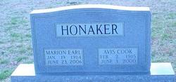 Avis <i>Cook</i> Honaker