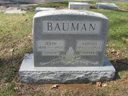 Sophia <i>Fleckenstein</i> Bauman