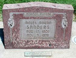 Moses Martin Sanders, Sr