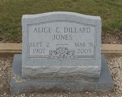 Alice C. <i>(Dillard)</i> Jones