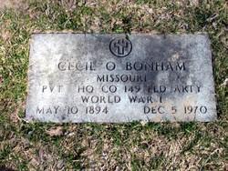 Cecil Oscar Bonham