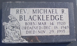 Rev Michael R. Blackledge