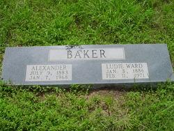 Ludie Eliza <i>Ward</i> Baker