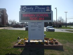 Sandy Plains Baptist Church Cemetery