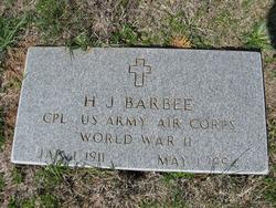 H. J. Barbee