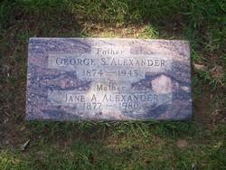 George Synder Alexander