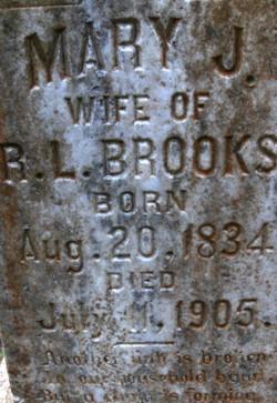 Mary Ann <i>McCann</i> Brooks