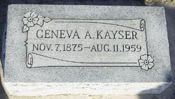 Geneva A. Kayser