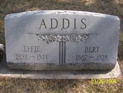 Effie Elda <i>Lamon</i> Addis